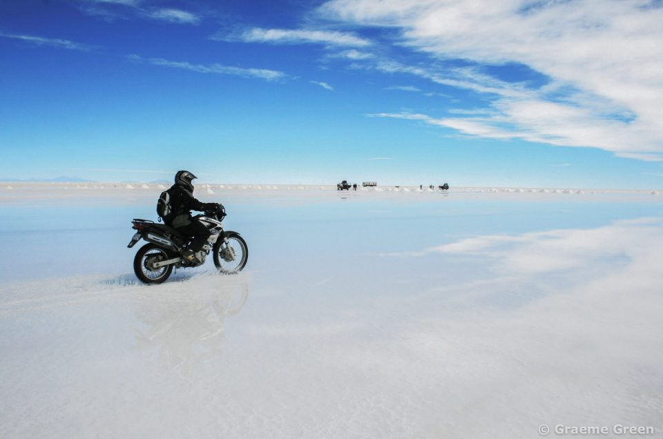 Bolivia:  Dazzled by a white world