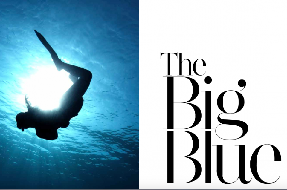 Freediving: The  big blue