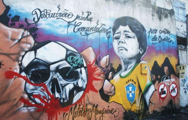 Forced evictions and human rights abuses in Rio's favelas